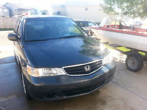 2003 Honda Odyssey Minivan, great family vehicle