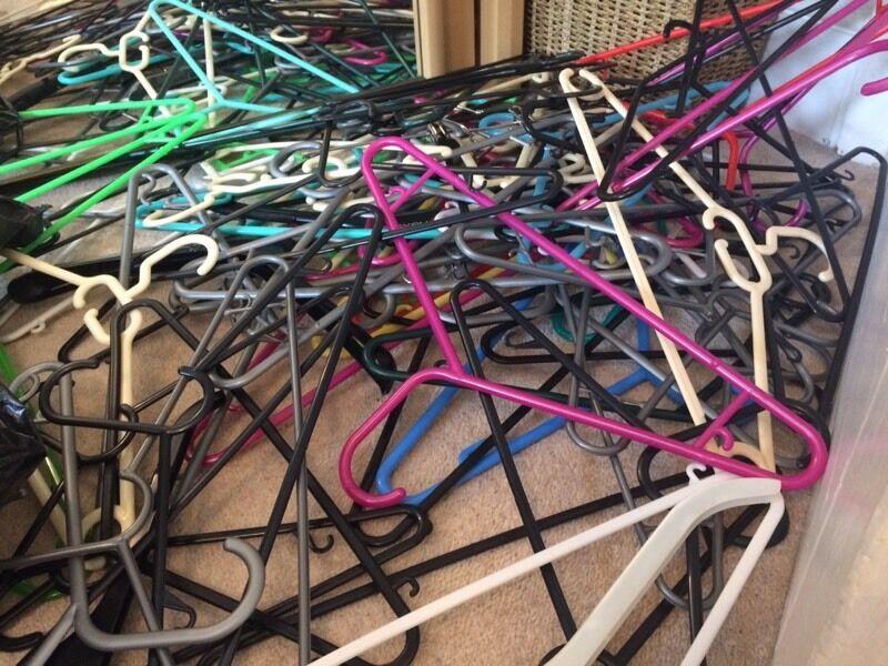 150+ coat hangers