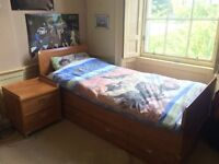 Gautier twin beds (with pull out beds under) and matching side drawers