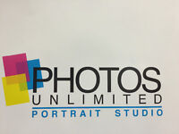 Photos Unlimited portrait studios in Walmart and Sears