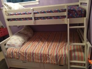 Single Over Double Bunk Bed For Sale