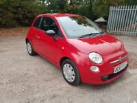 2009/59 Fiat 500 1.2 POP 1/2 LEATHER ! MOT 09/2018 ! 3 MTHS WARRANTY INCLUDED !