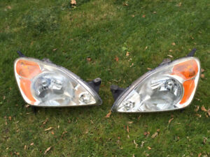 Honda crv headlights