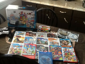 WiiU console plus variety of games