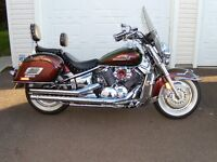 ** Yamaha V-star motorcyle for sale - Must see **