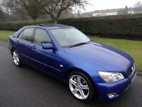 LEXUS IS 200 (2.0) SE - 4 DOOR - BLUE ** TOP OF THE RANGE **