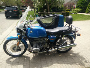 1977 BMW R60/7 with Sidecar
