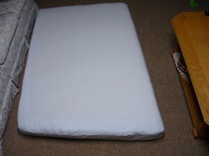 "Foam Mattress for bed on boat  has one round corner (5"" Thick)"