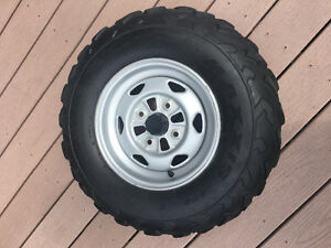 Honda ATV set of 4 tires and rims