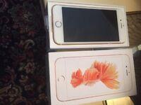 I phone 6 s brand new rose gold