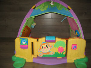 Activity play tent with door (Playskool)