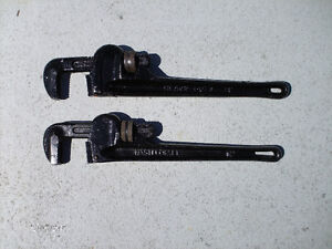 """2 Clés a tuyaux 14"""" Pipes Wrench"""