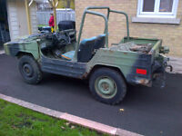 1985 Bombardier EX Canadian Forces jeep project