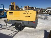 2007 ATLAS COPCO MODEL XAS375T3 AIR COMPRESSOR DEISEL JD DIESEL