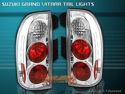 99 00 01 Suzuki Grand (99-04 SUZUKI GRAND VITARA CLEAR TAIL LIGHTS LAMPS 03 02 01)