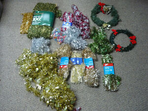 Xmas Garland all Color & 2 wreaths (Vintage Style)