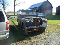 """1959 LAND ROVER Series 11 """"BARN FIND"""" FOR PROJECT OR PARTS"""
