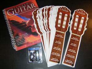 New Guitar Tuner and 3 Books on How to Play