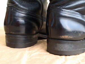 EUC Mens Black Leather Western Boots Williams Lake Cariboo Area image 6