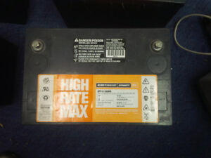High Rate Max Trickle cell Batteries