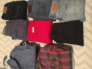 Large Container of Kids Clothing- Boys Brand Named Clothing