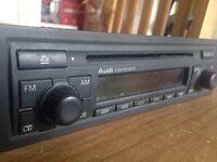 Audi A4 CD player
