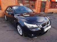 2007 07 BMW 5 SERIES 525D M SPORT 2.5 4D DIESEL
