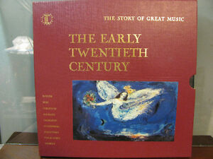 Vinyl Records,  Set of The Story of Great  Music