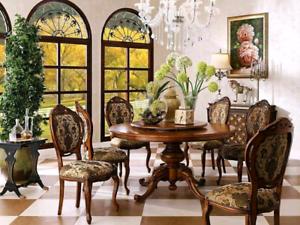 High End Luxury Lebetter Dining Set (Retail $8900) Rosemeadow Campbelltown Area Preview