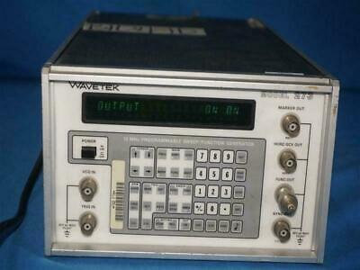 Wavetek 273 12 Mhz Programmable Sweepfunction Generator