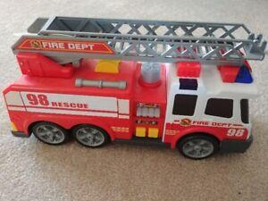 Fire engine truck.