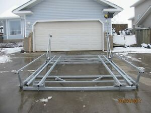 CUSTOM NEW CANTILEVER PONTOON, BOAT AND WAKEBOARD BOAT LIFTS Edmonton Edmonton Area image 10