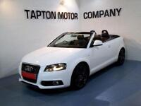 Audi A3 Cab S LINE FULL LEATHER 1 LADY OWNER DEALER HISTORY