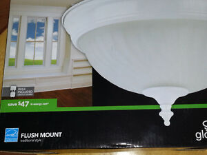 12 NEW Flush mount ceiling lights