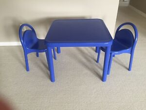 Table set for the Playroom