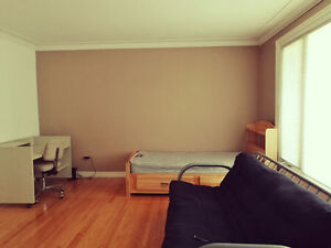 One bedroom upstairs for rent in January 2017