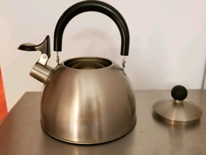 Tea Kettle with whistle