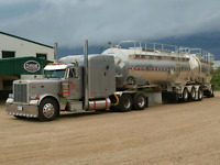 Looking for experienced Class 1 fluid hauler
