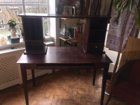 Desk / table and bench wooden London Shepherd's Bush