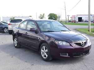 2007 MAZDA3 SAFETY ETEST LOW KMS $2900 613-445-3555 CALL NOW