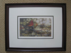 "Framed LE print ""Tangled Garden"" by Terrence Andrews"