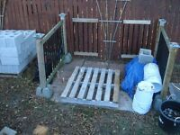 New, Left Over Concrete, Cinder Blocks- SMALL LOT ONLY- Total 20
