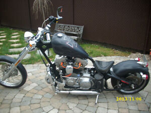 Harley buell ,sportster 2014 chassis(frame)legale  a vendre 4500