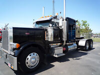 2004 Peterbilt 379 with 48 inch FLAT TOP 265 inch W.B.