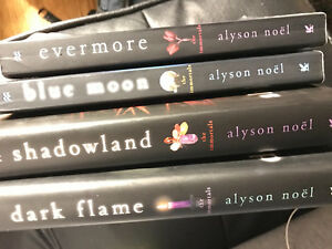 First four books from The Immortals series (Alyson Noël)