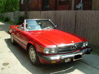 1983 Mercedes-Benz SL-Class Convertible Convertible