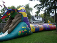 TSSA Approved Bouncy castles inflatables - dunk tank-mini putt