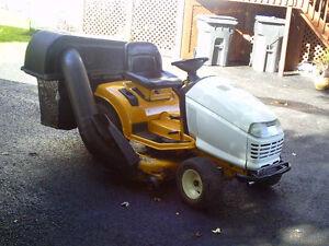 tracteur cub cadet 2185 industriel