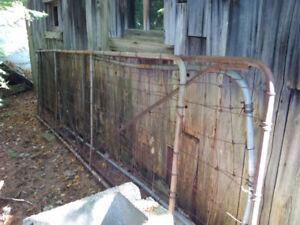 ANTIQUE FARM FENCE GATE (4 total)
