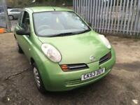 Nissan Micra 1.2 16v S SEPTEMBER MOT,DRIVES WELL